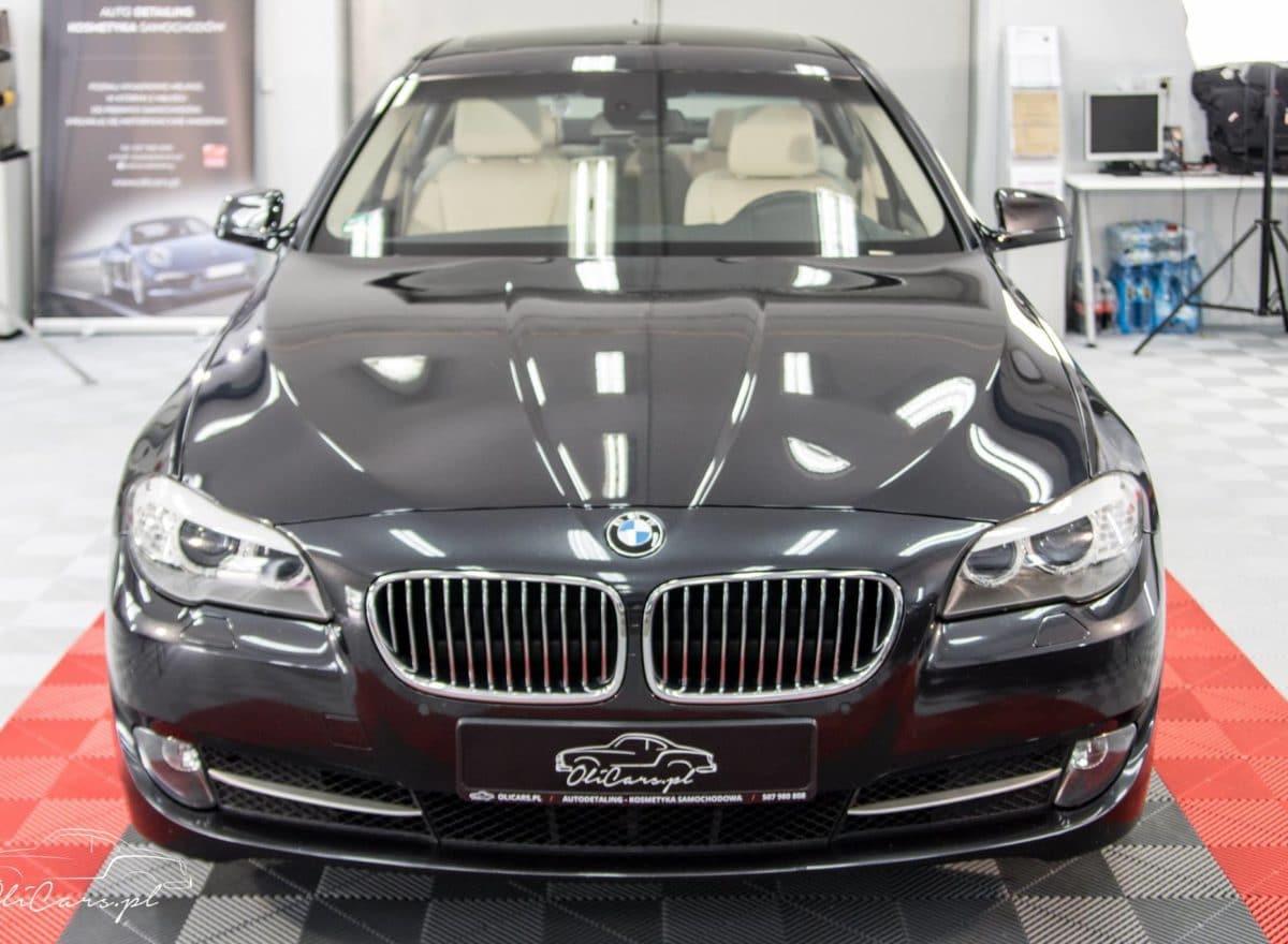 BMW 5 F10 odświeżenie przed sprzedażą