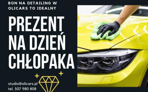 Bon na detailing w OliCars Legnica to idealny pomysł na prezent