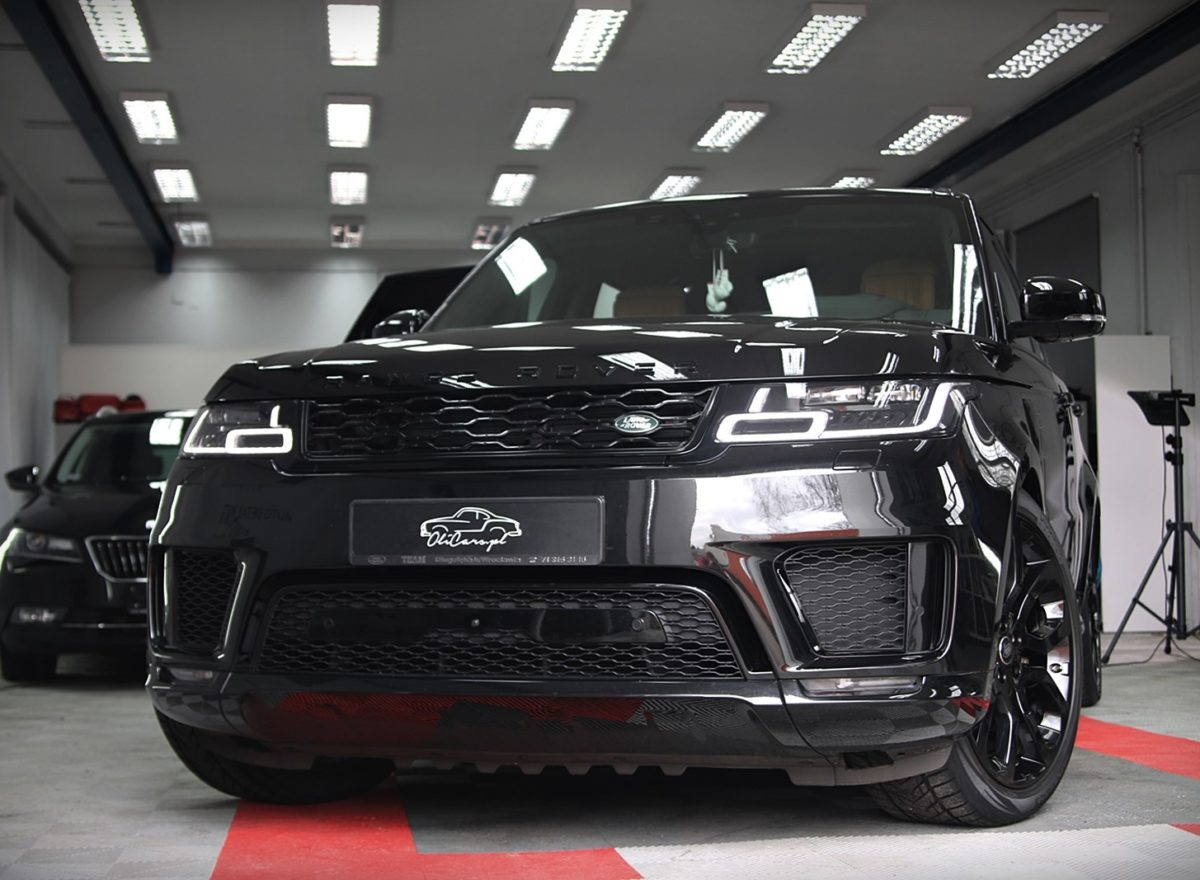 Range Rover Sport na jednodniowym CAR SPA