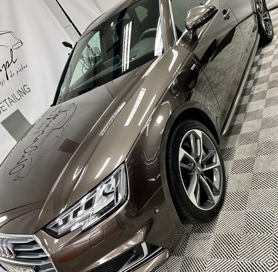 Polerowanie lakieru Legnica Audi A4