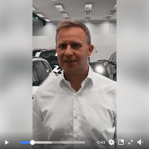 Prezentacja opiekuna Klienta w OliCars Detailing Legnica