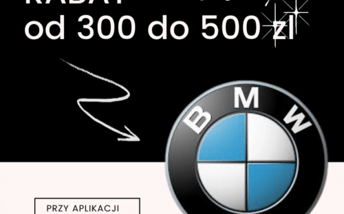 Rabat dla właścicieli BMW na aplikację powłoki ceramicznej