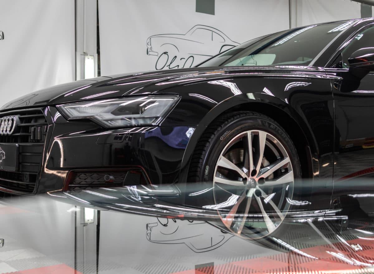 Nowy model Audi A6 C8 Avant - detailing Lubin
