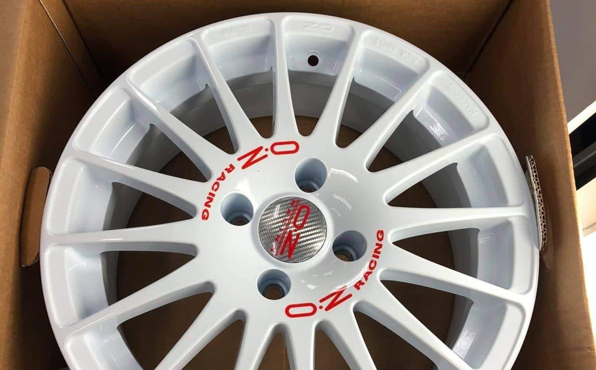 Felgi OZ Racing - zabezpieczenie powłoką ceramiczną
