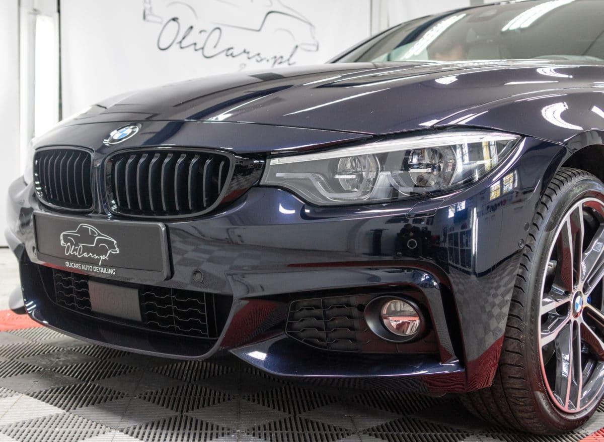 Oklejenie frontu BMW folią ochronną