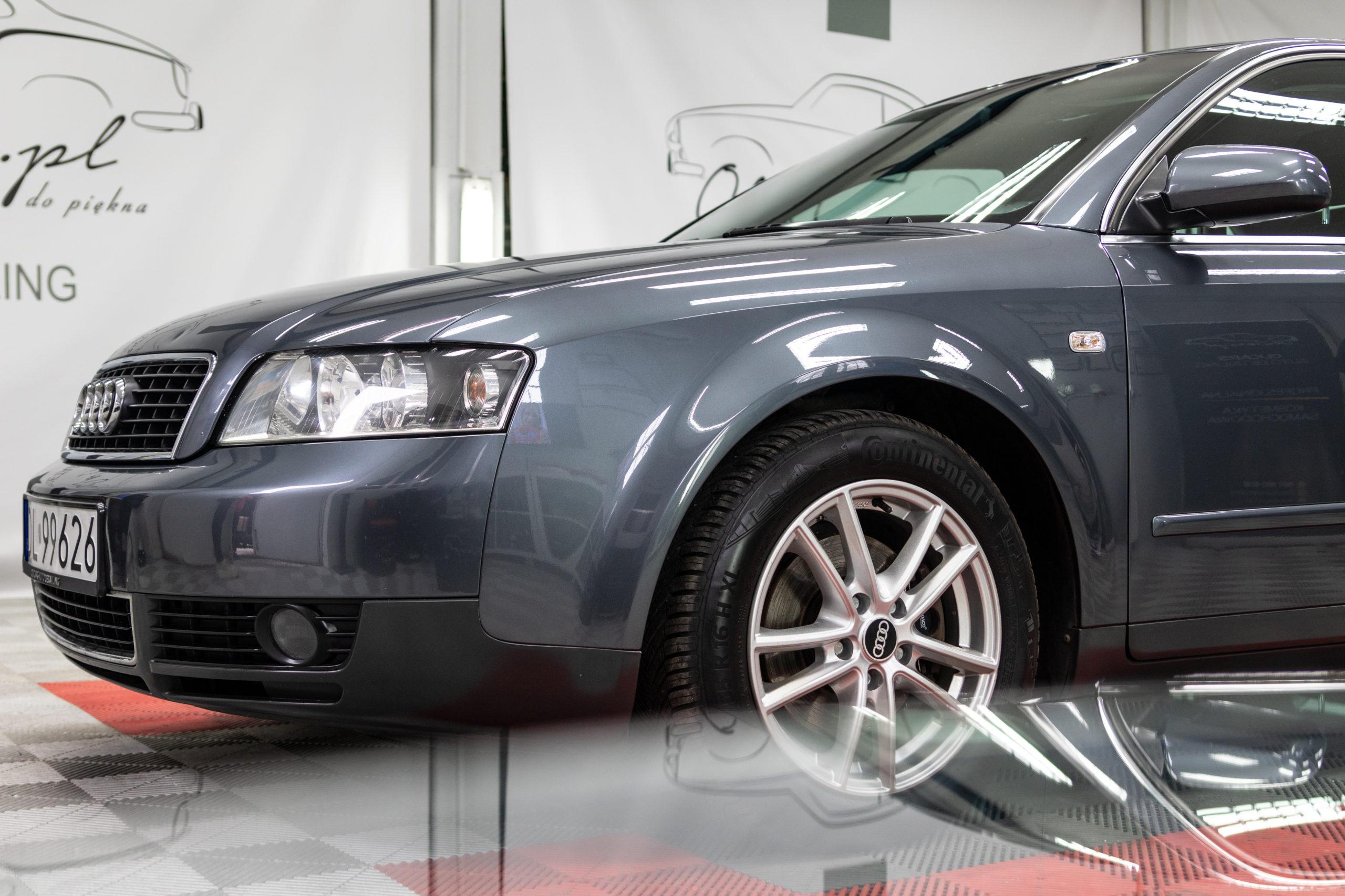 Czy starsze auto może przejść detailing?