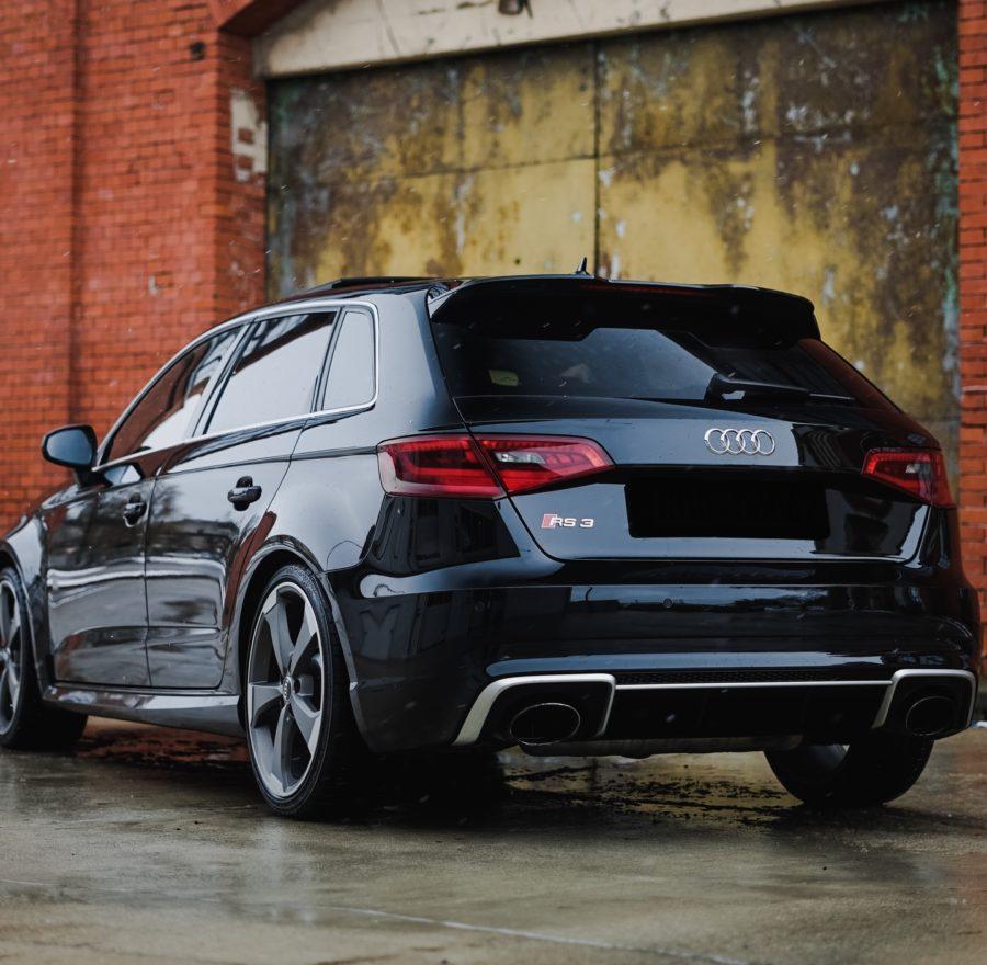 Polerowanie lakieru Audi RS3