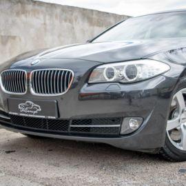 BMW 5 F10 odświeżenie przed sprzedażą - wygląd lakieru