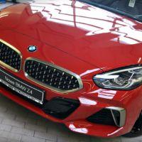 aplikacja powłoki ceramicznej na nowym BMW Z4 w salonie BMW DEX PREMIUM w Lubinie