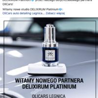 potwierdzenie Bracia Pietrzak Delixirum Platinum dla OliCars Legnica